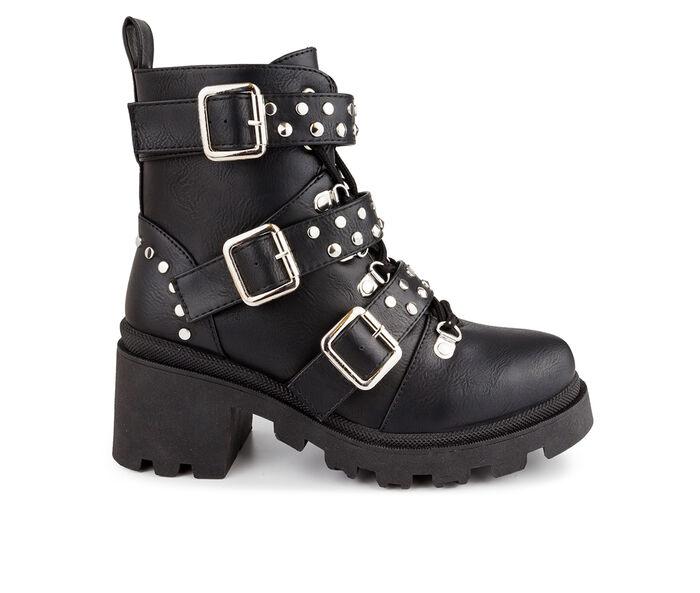 Women's Sugar Flair Combat Boots