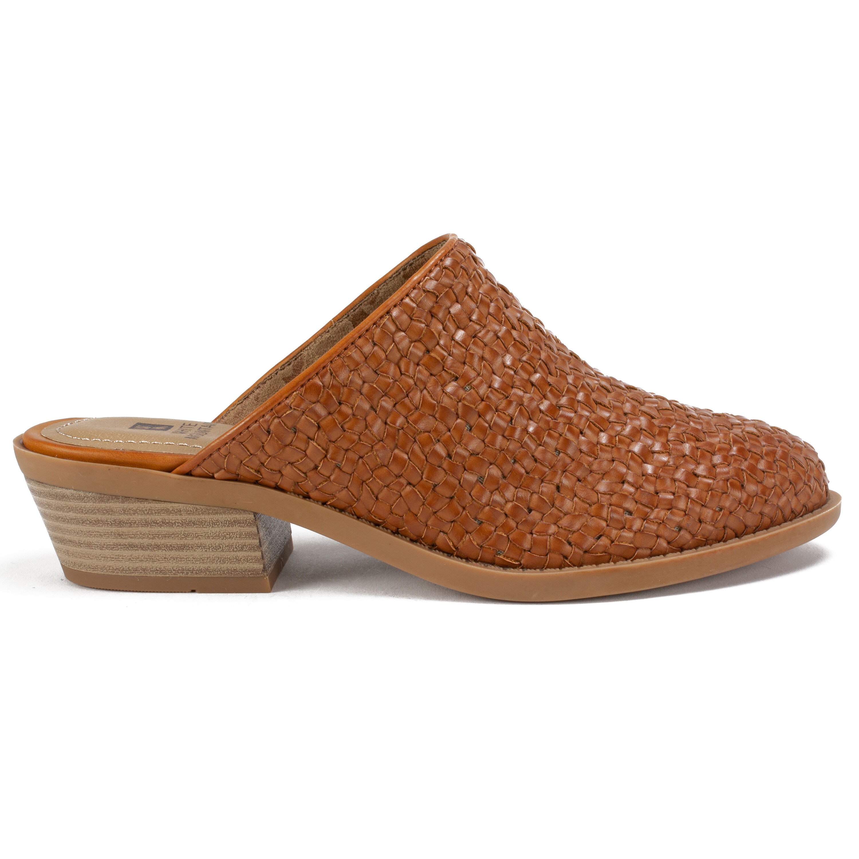 Women's White Mountain Dixson Mules Tan