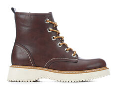 Women's Madden Girl Kent Lace-Up Boots