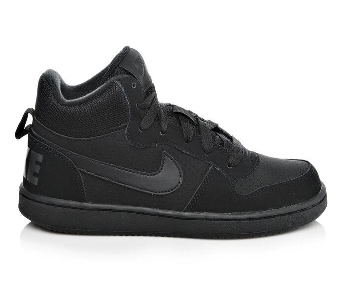 e627577d142 Boys  Nike Court Borough Mid 3.5-7 High Top Basketball Shoes at Shoe  Carnival