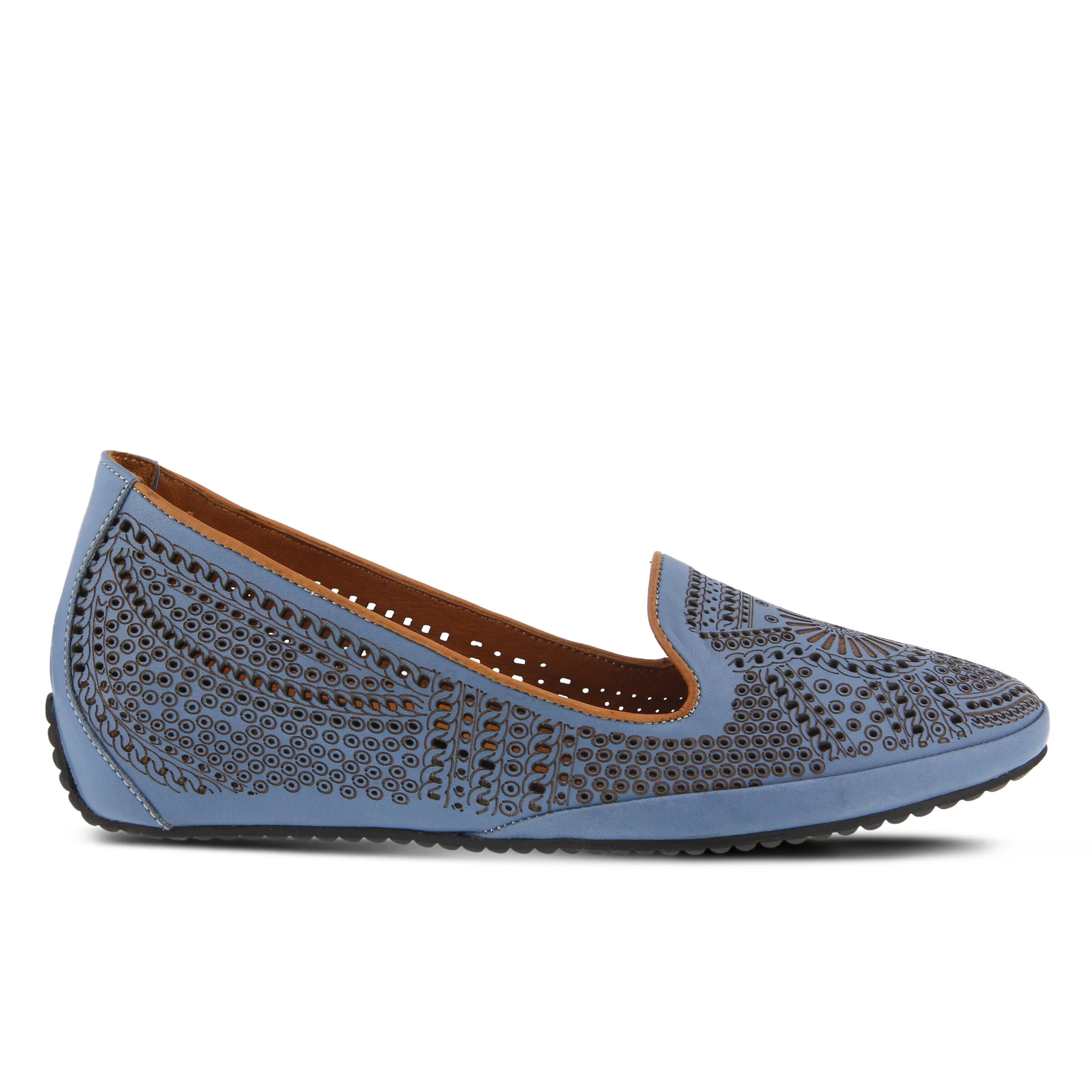 Women's SPRING STEP Shondra Flats Denim Blue