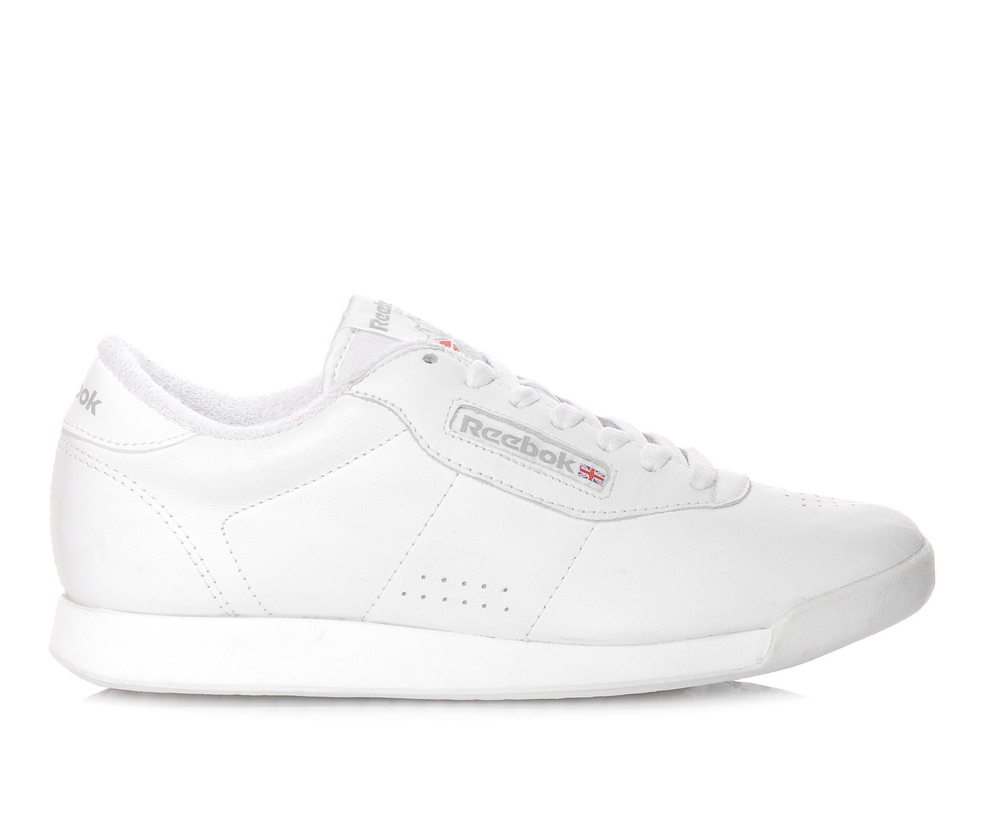 new series Women's Reebok Princess II Retro Sneakers White