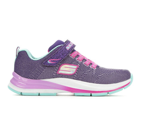 Girls' Skechers Double Strides Duo Dash 10.5-3 Light-Up Sneakers