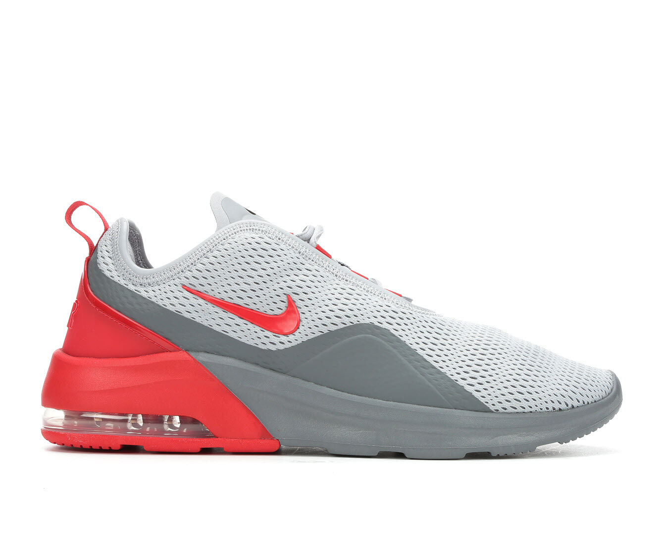 Men's Nike Air Max Motion 2 Sneakers Gry/Red 001