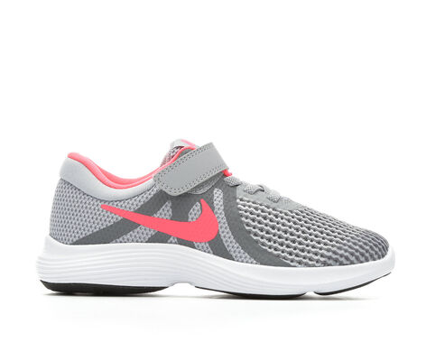 Girls' Nike Revolution 4 10.5-3 Running Shoes