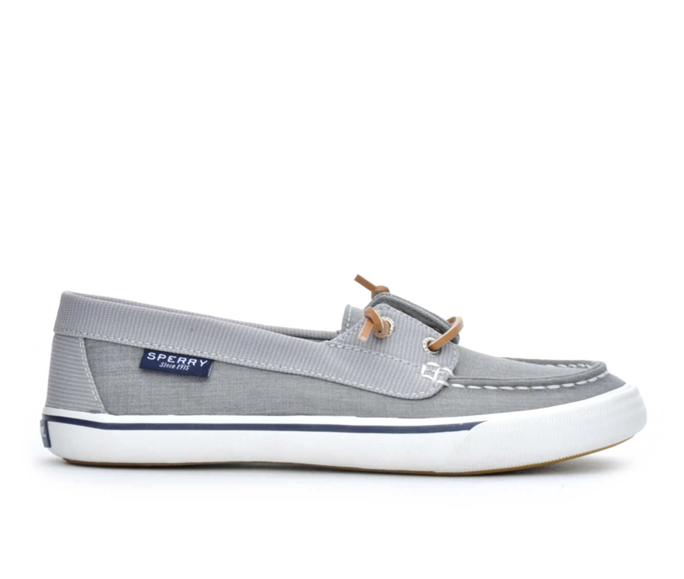 Women's Sperry Lounge Away Boat Shoes Grey