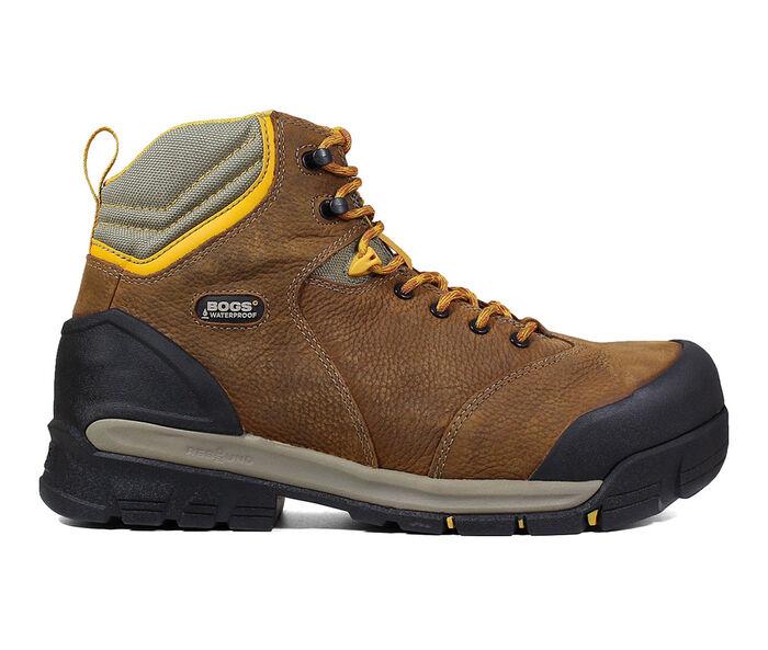 """Men's Bogs Footwear Bedrock 6"""" Comp Toe Work Boots"""