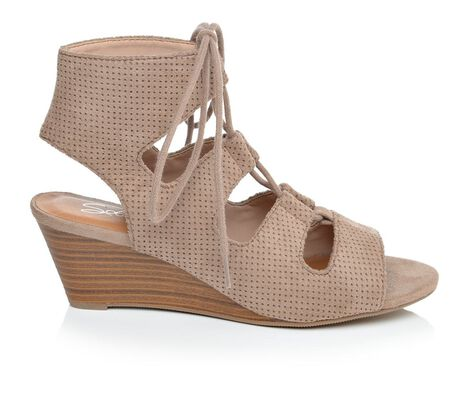 Women's Solanz Radley Lace-Up Wedge Sandals