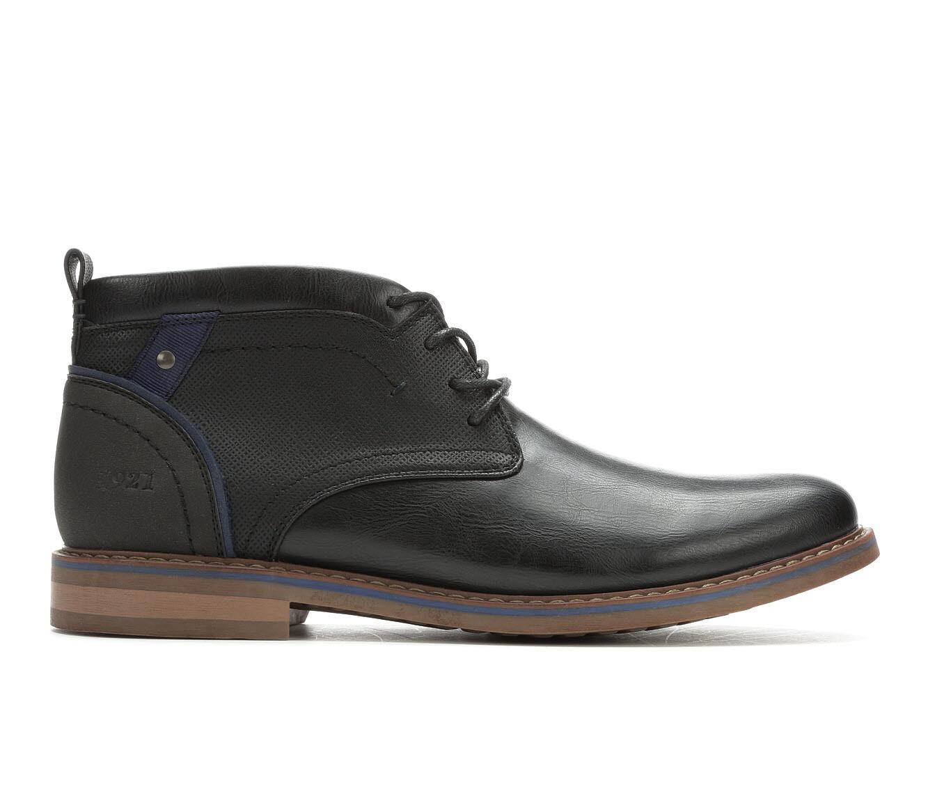 Bulk Discount Men's Freeman Brent Chukka Boots Black