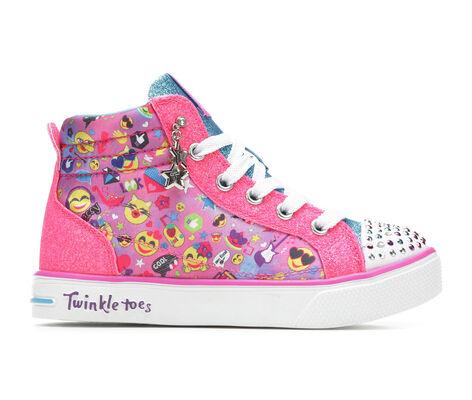 Girls' Skechers Emoji Magic 10.5-4 Light-Up Sneakers