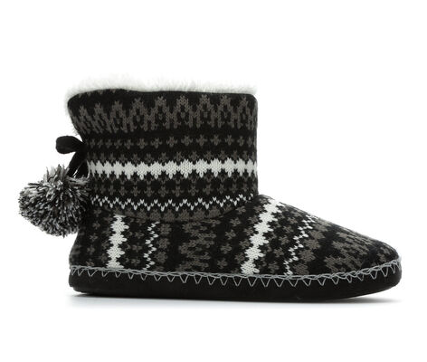 Women's Y-Not Accessories Patterned Slipper Boot
