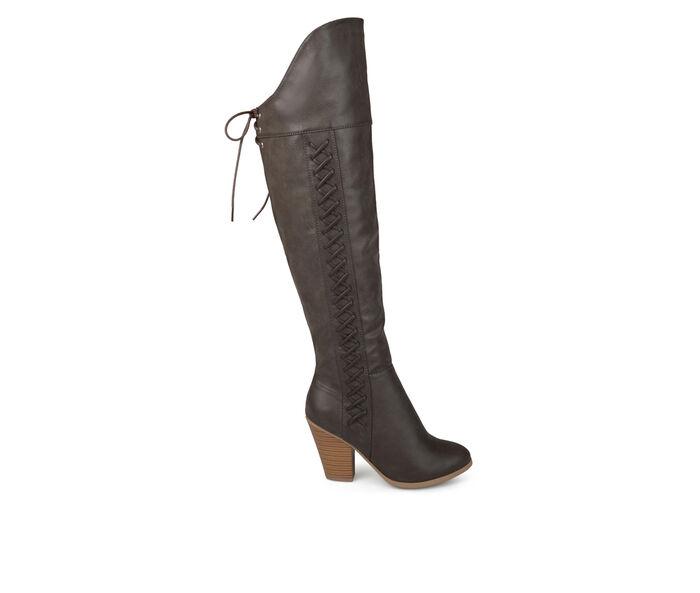 Women's Journee Collection Spritz Wide Calf Over-The-Knee Boots