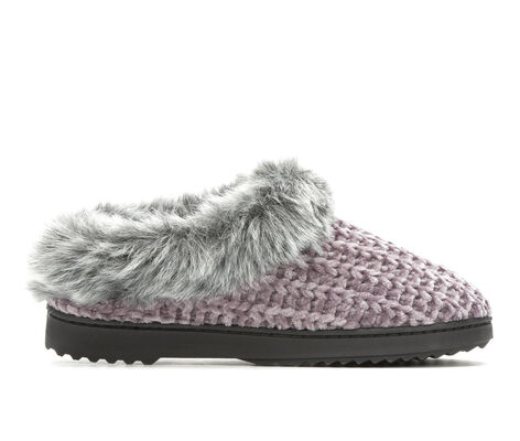 Adults' Dearfoams Chenille Knit Clog