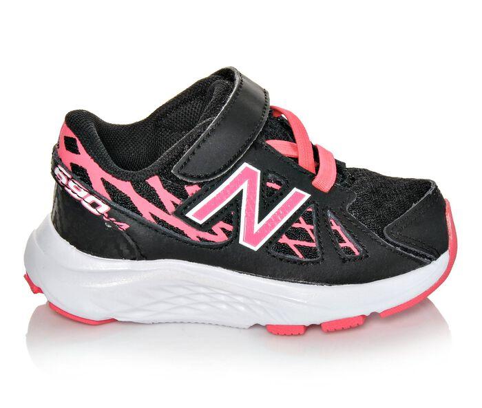 Girls' New Balance Infant KV690PBI Athletic Shoes
