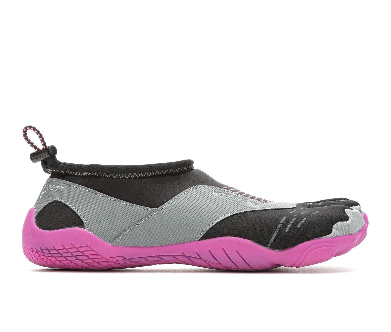 Women's Body Glove Barefoot Cinch Water Shoes Black/Flamingo