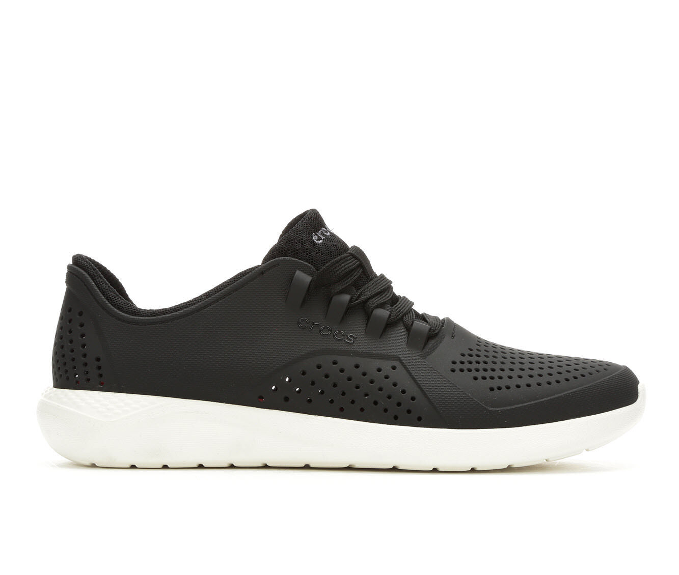 purchase comfortable Men's Crocs LiteRide Pacer Black/White