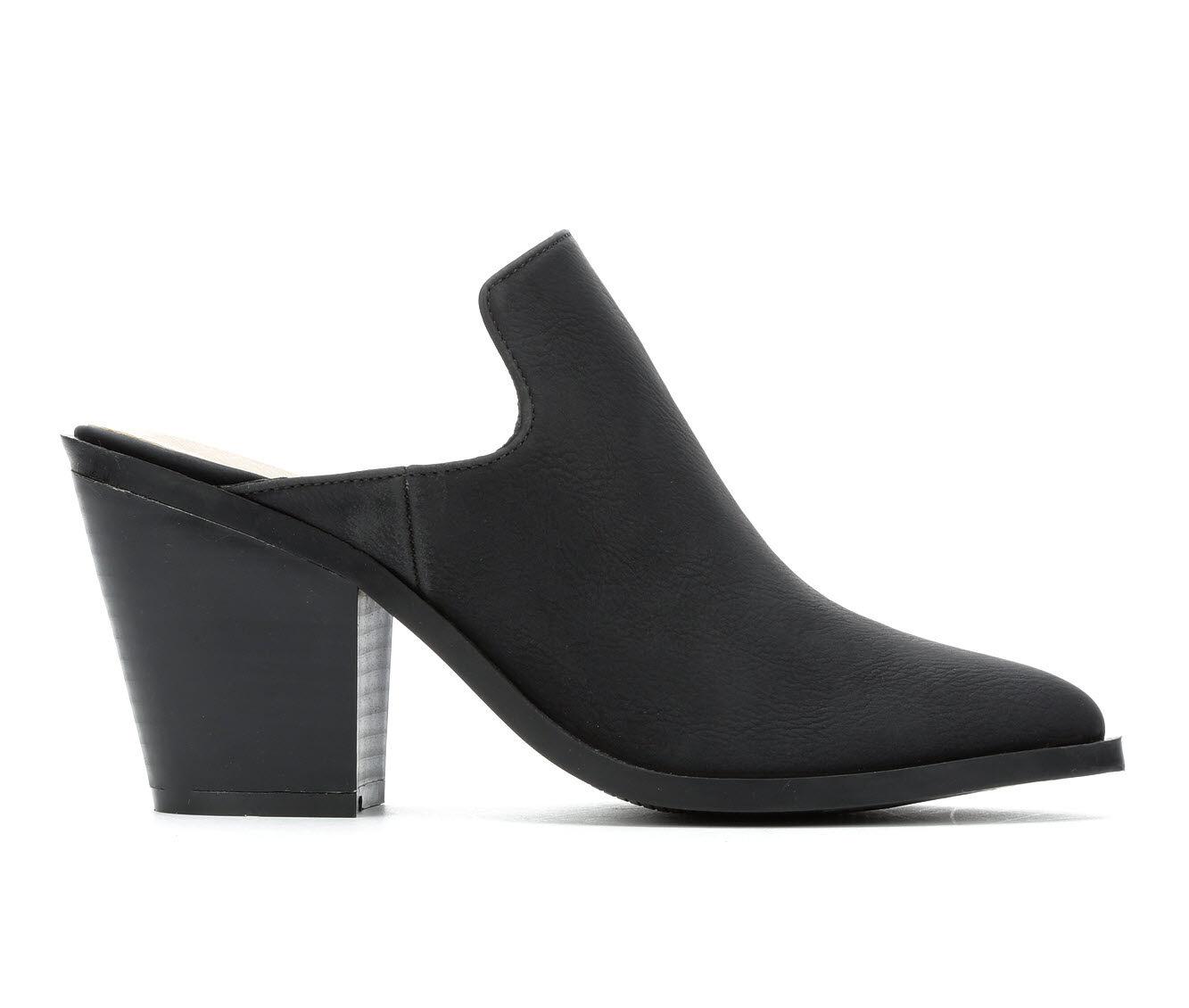 Women's Zigi Soho Maurine Pointy Toe Heeled Mules Black