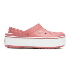 Women's Crocs Crockband Platform Clogs