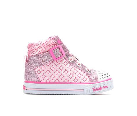 Girls' Skechers Infant Shuffles Twinkle Charm 5-10 Light-Up Sneakers