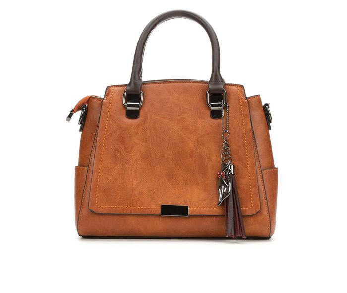 Bueno Of California Satchel Handbag with Zip