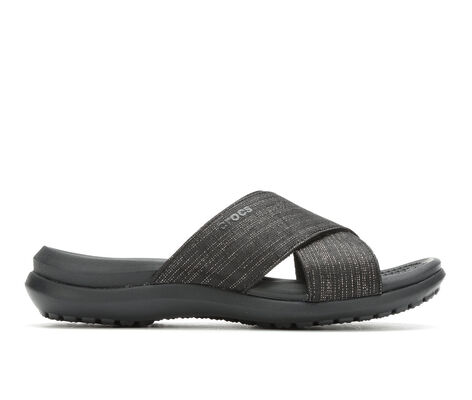 Women's Crocs Capri Cross Band San Sandals