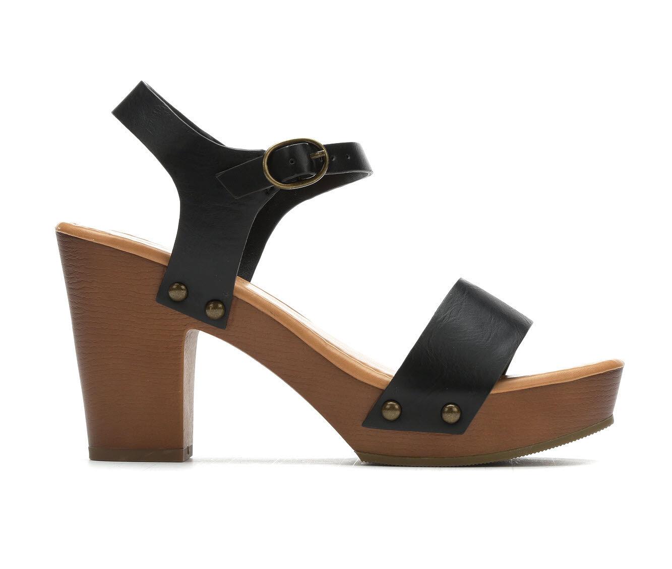 get cheap Women's Soda Chivas Dress Sandals Black