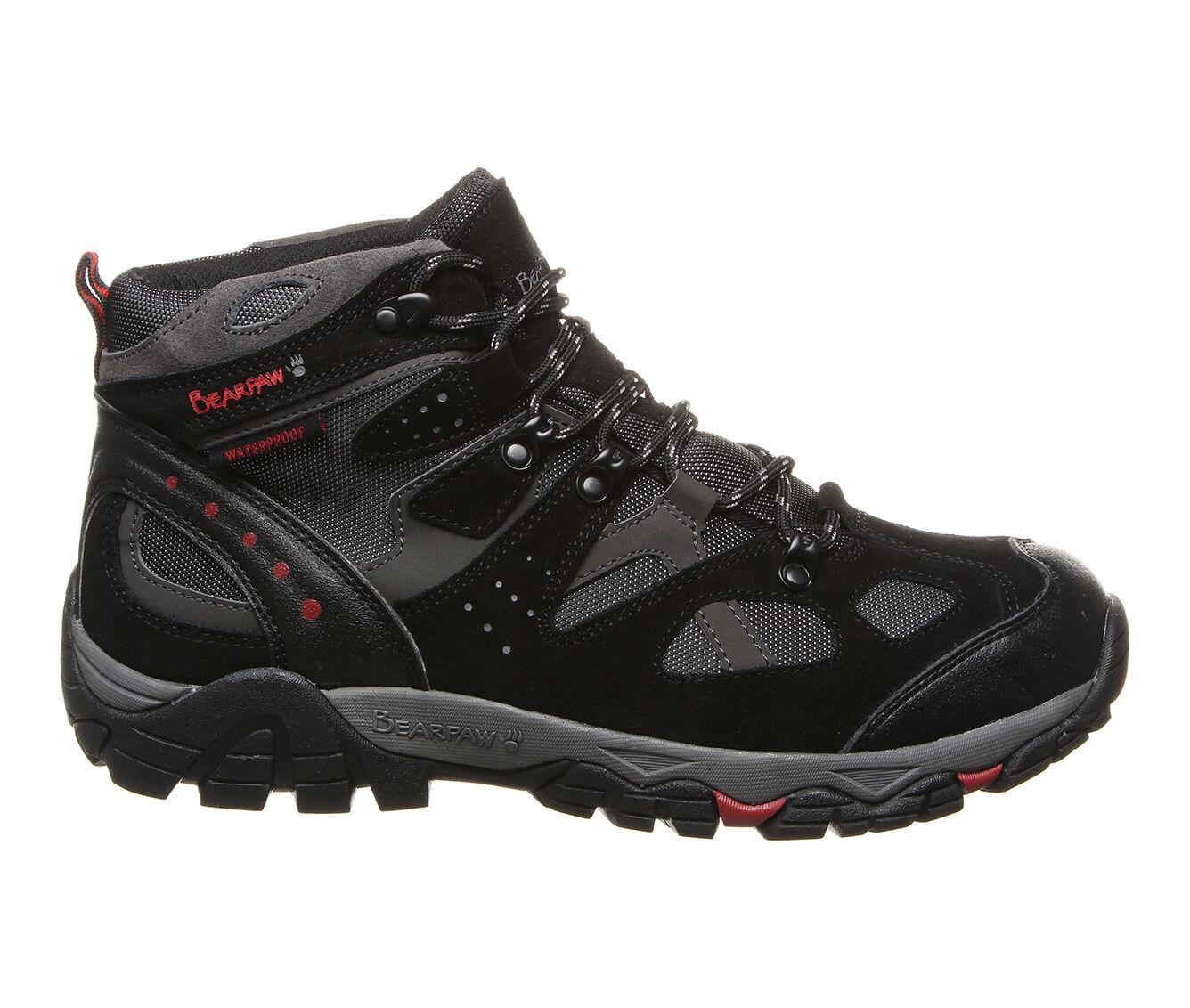 Men's Bearpaw Brock Hiking Boots Black/Grey