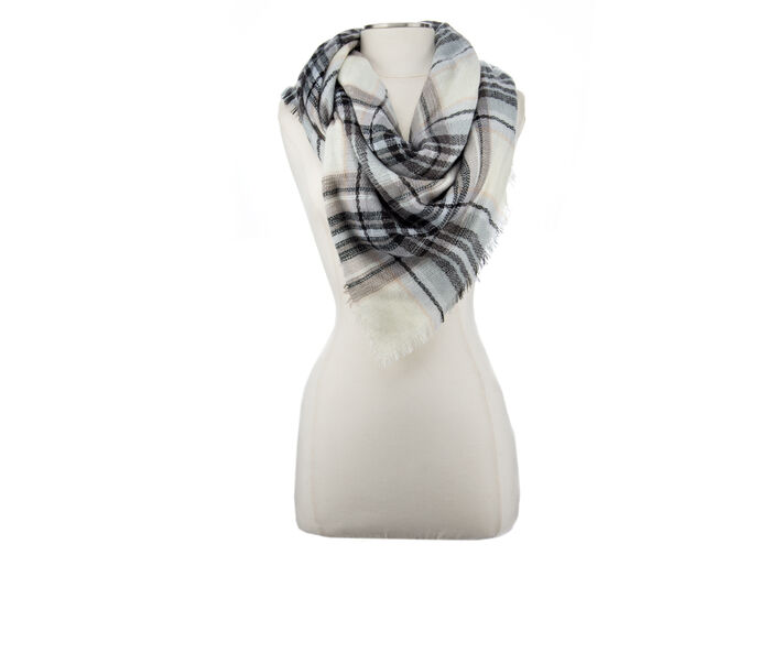 Collection 18 Plaid Square Scarf