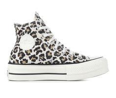 Women's Converse Chuck Taylor All Star Leopard Lift Hi Platform Sneakers