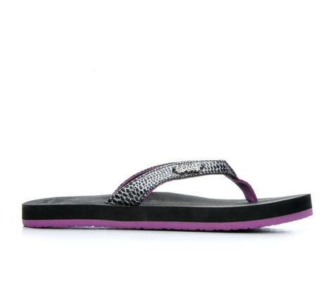 Girls' Reef Little Cushion Sassy Flip-Flops