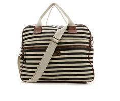 Madden Girl Handbags Canvas Overnighter
