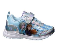 Kids' Disney Toddler & Little Kid Frozen 2 Silver Sneakers