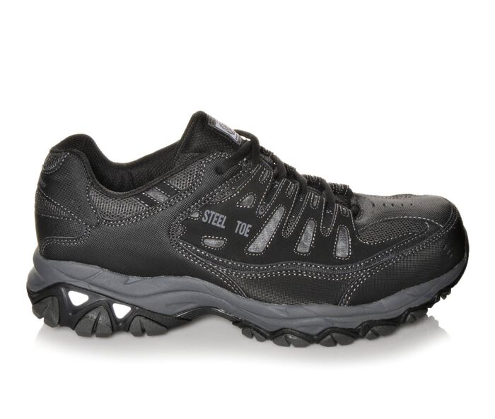Men's Skechers Work 77055 Cankton Steel Toe Work Shoes