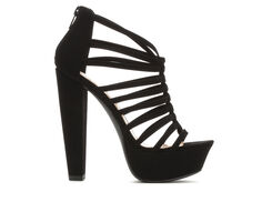 Women's Delicious Meme Strappy Heeled Sandals