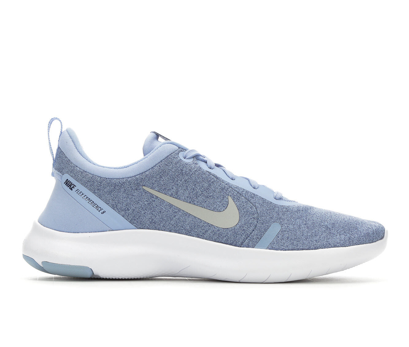 big discount Women's Nike Flex Experience Run 8 Running Shoes Blue/White/Slv