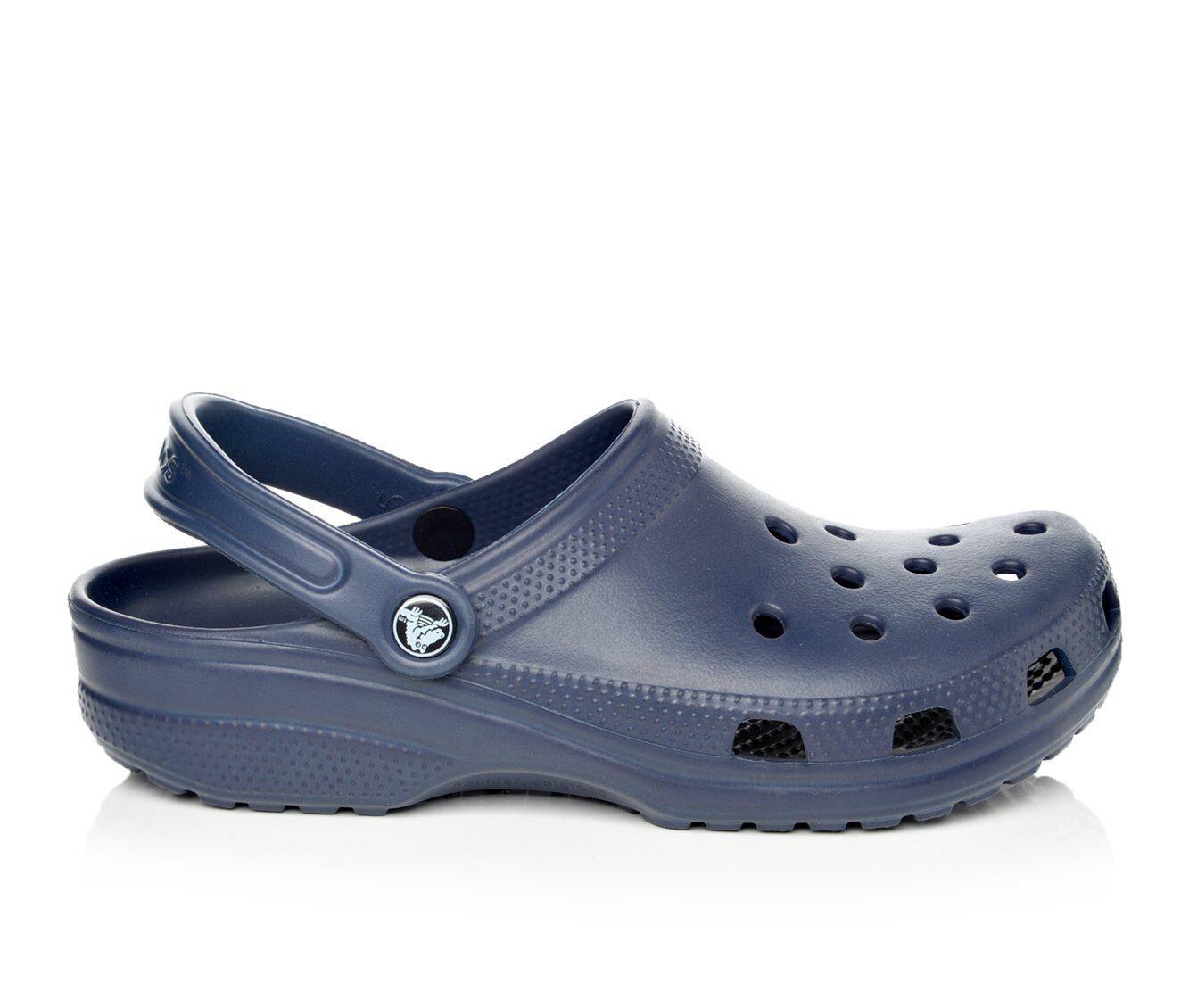 Women's Crocs Classic Clogs Navy