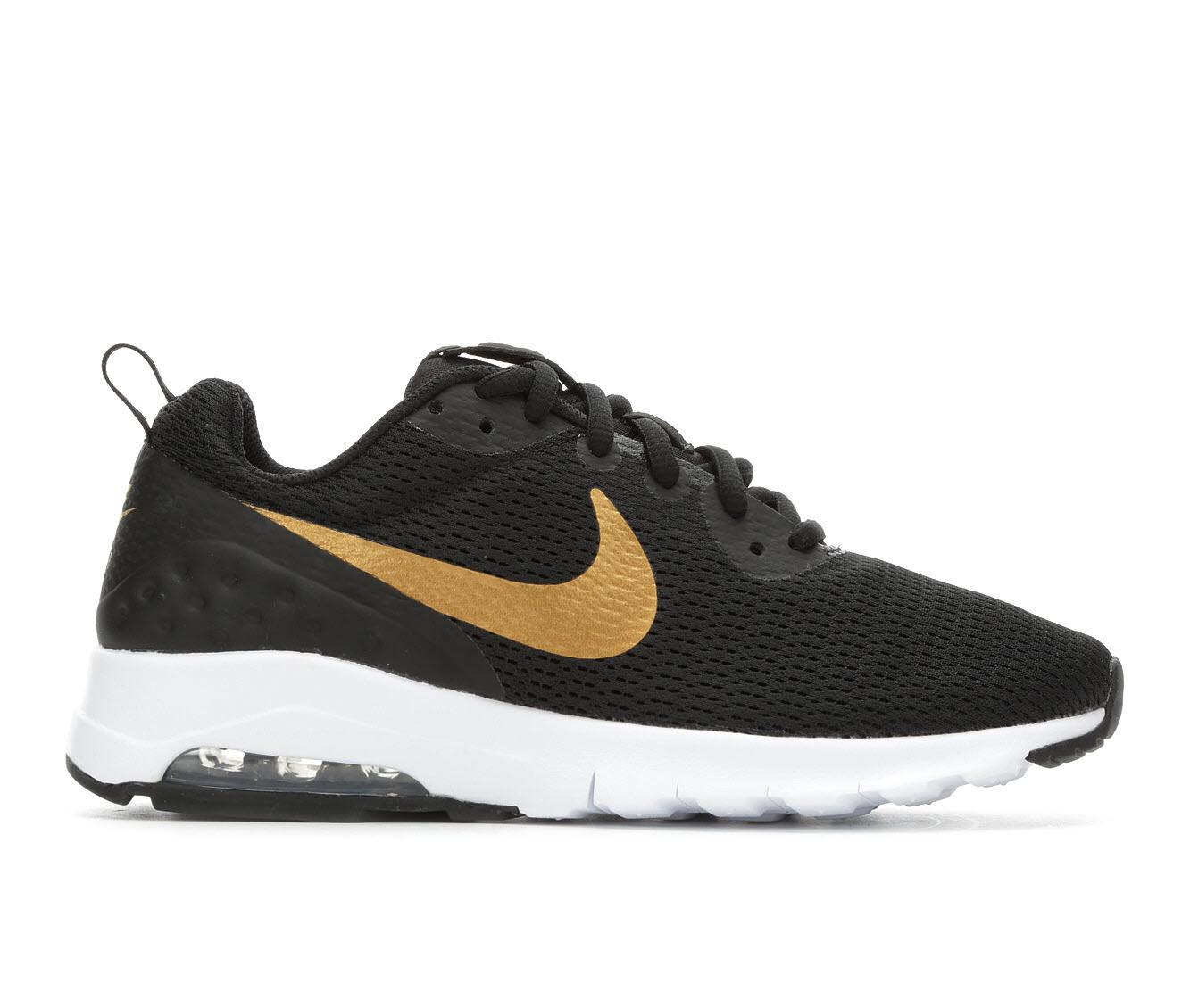 offer original Women's Nike Air Max Motion Low Sneakers Black/Met Gold