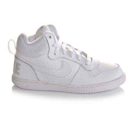 Boys' Nike Court Borough Mid 10.5-3 Sneakers
