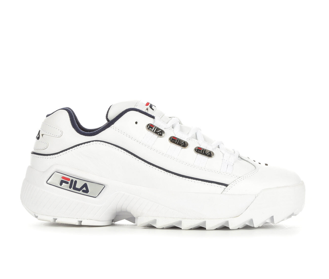 Men's Fila Hometown Sneakers Wht/Nvy/Red