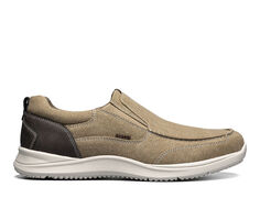 Men's Nunn Bush Conway Canvas Moc Toe Slip-On Slip-On Shoes