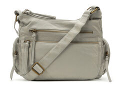 Bueno Of California Multi Zip Pocket Crossbody Handbag