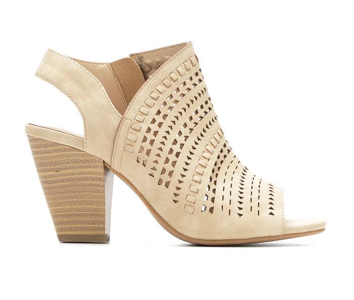 Women's Delicious Across Heeled Sandals
