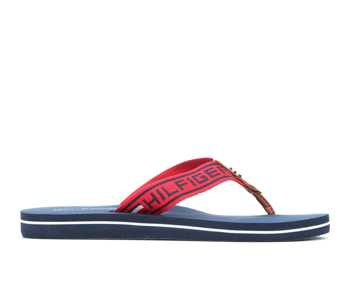 new fashion style Women's Tommy Hilfiger Cleen 2 Sandals Red Multi