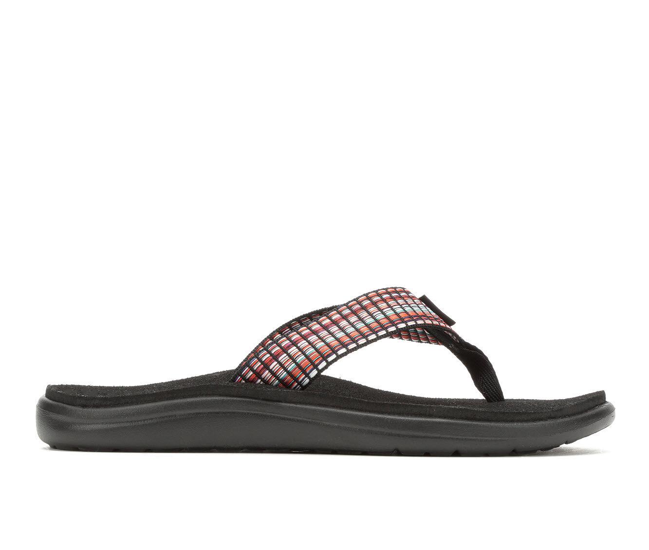 Clearance Women's Teva Voya Flip W Sandals Black Multi
