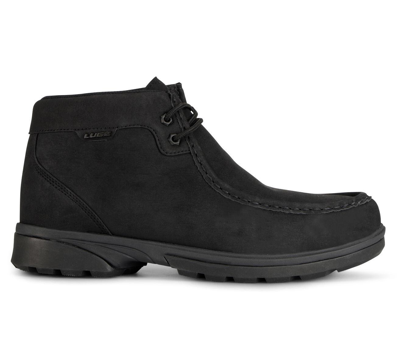 Men's Lugz Zeo Moc Mid-Rise Boots Black