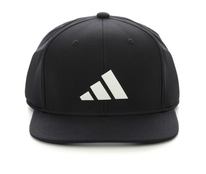 Adidas 3-Bar Flat Bill Snapback Cap