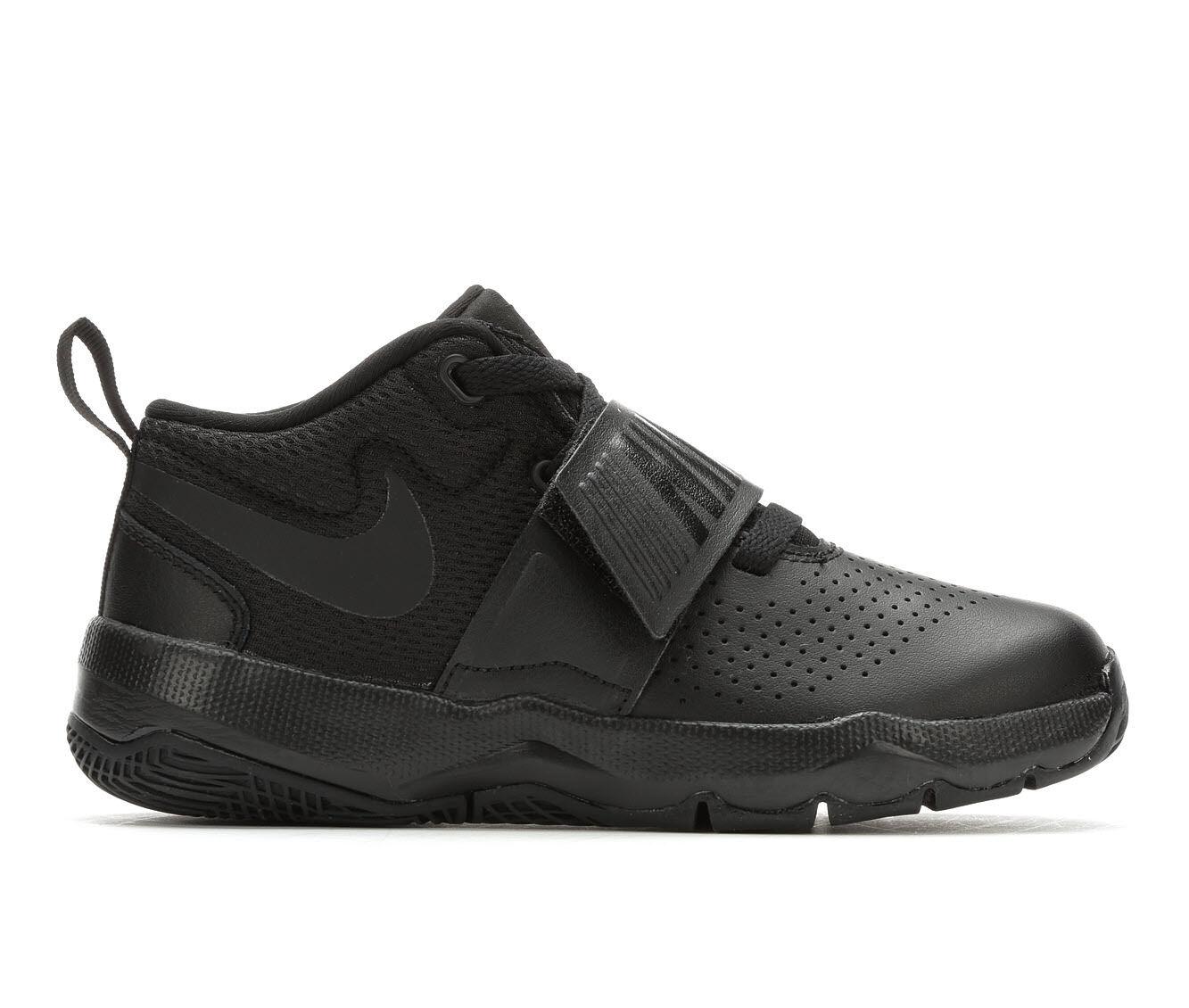 Boys' Nike Team Hustle D8 3 High Top Basketball Shoes