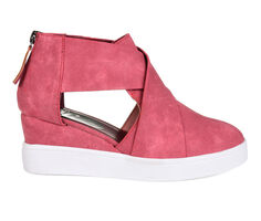 Women's Journee Collection Seena Wedge Sneakers