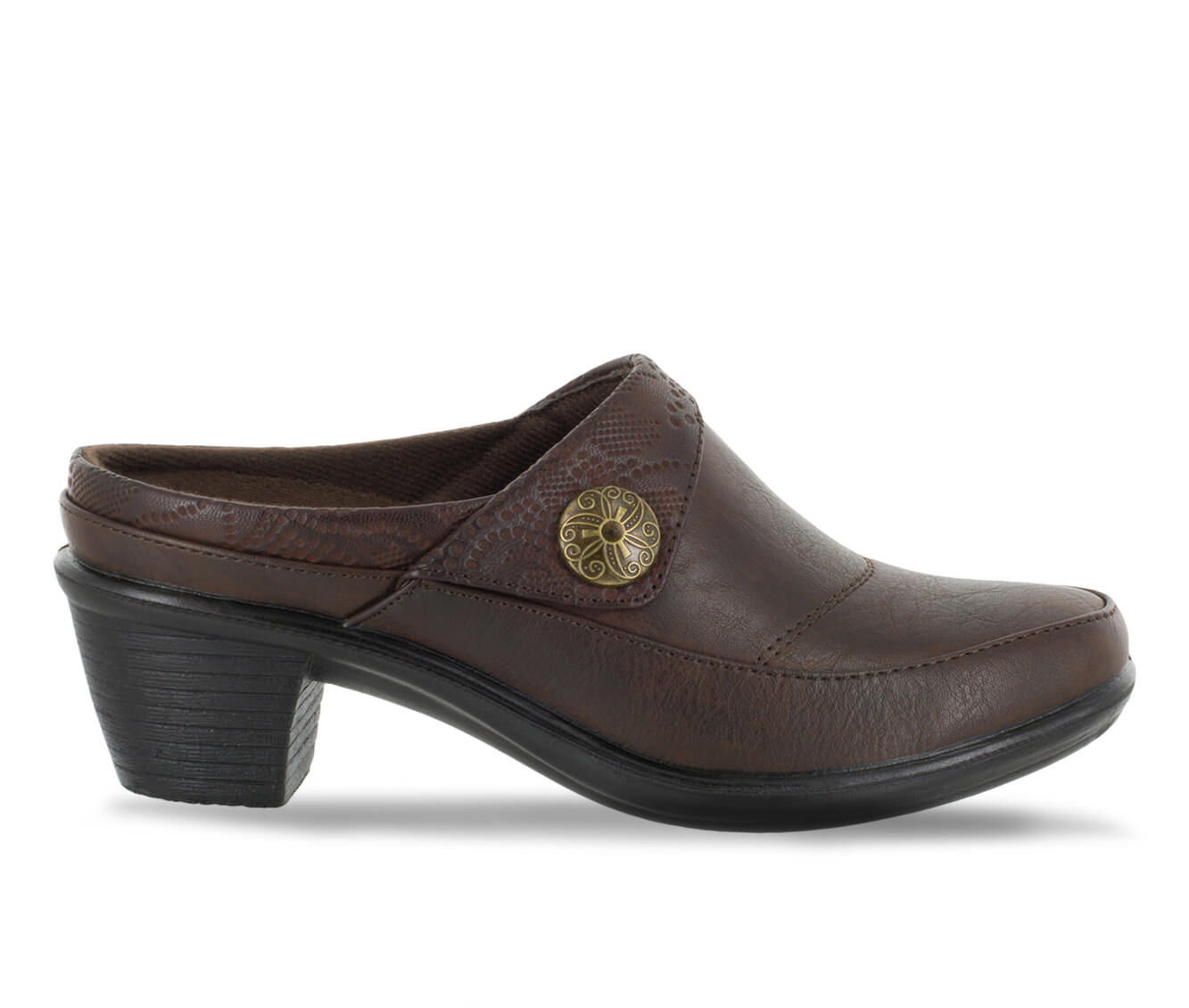 Women's Easy Street Journey Shoes Brown/Embossed
