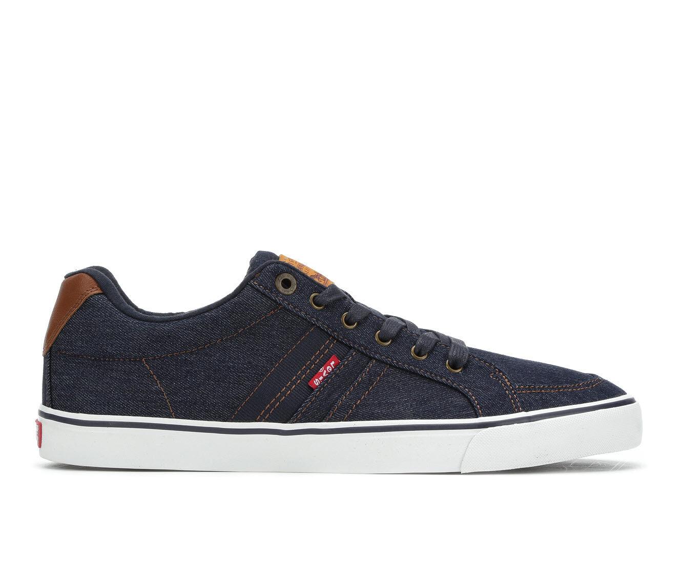 Men's Levis Turner Denim Casual Shoes Navy